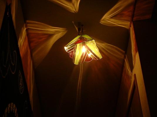 焚き火四面ランプ
