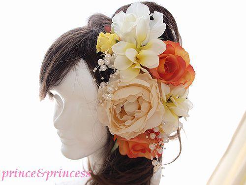 ビタミンカラーの髪飾りセット*ヘッドドレス*