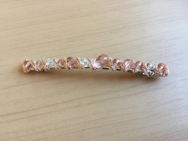 【数量限定価格】バレッタ(ピンク)