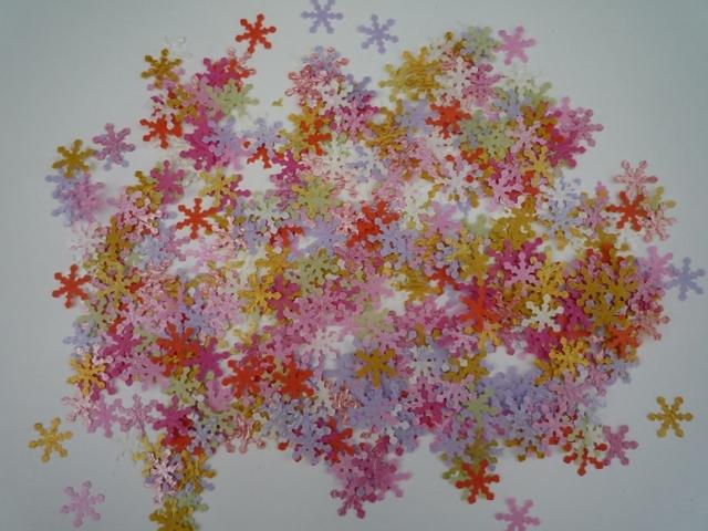 【再販×1】雪の結晶のクラフトパンチ