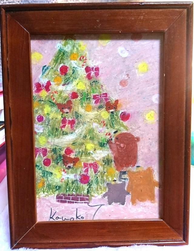原画「待ち遠しいクリスマス」