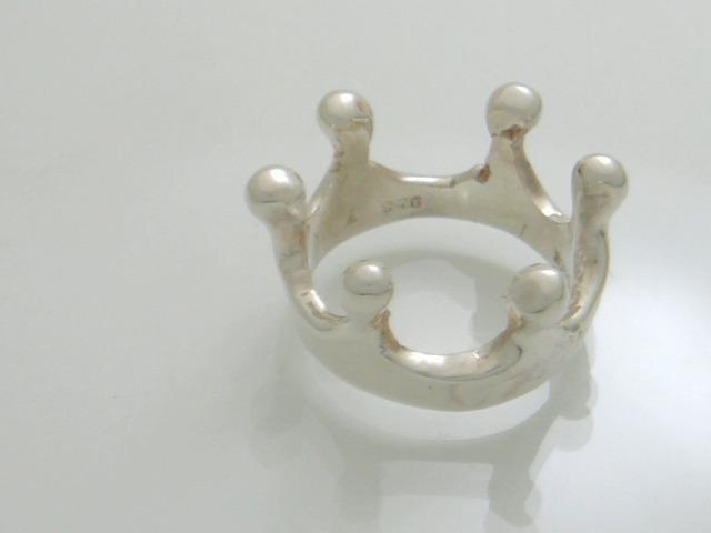 ミルククラウンの指輪