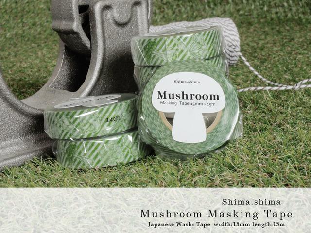 �ں��Ρ�Mushroom masking tape ��