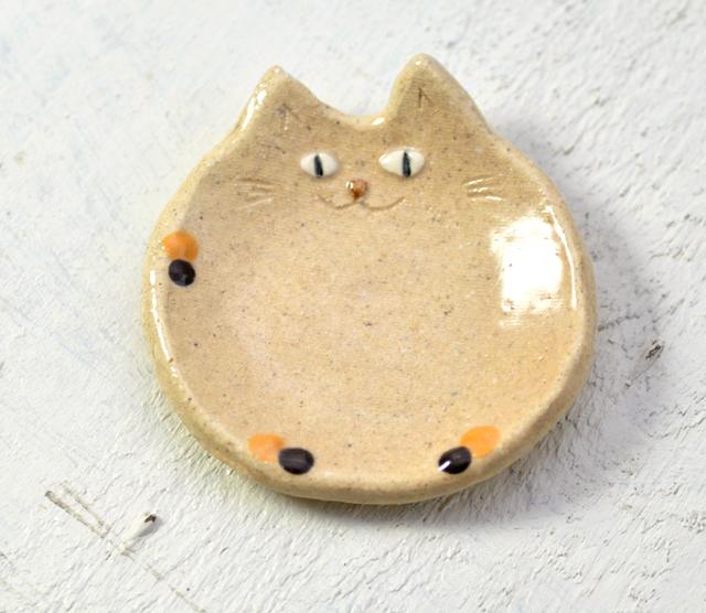三毛猫の小皿