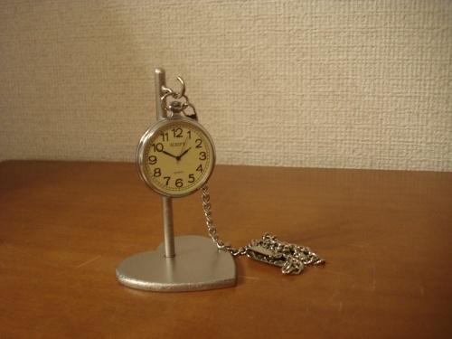ハート台座懐中時計スタンド  ak-design