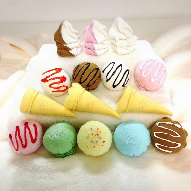 フェルトのアイスクリーム屋さん...