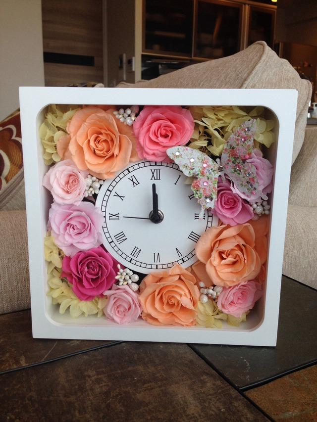 フェミニンな花時計