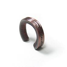 cometman 銅とブビンガ材のリング6
