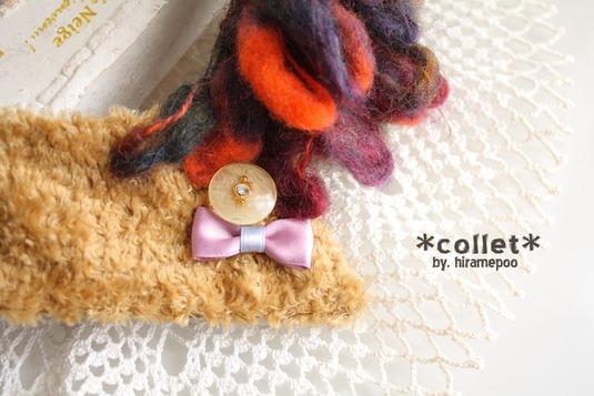 【付け襟】collet ・・・ design/ a