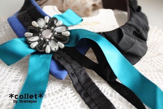 【付け襟】collet ・・・ design/ b