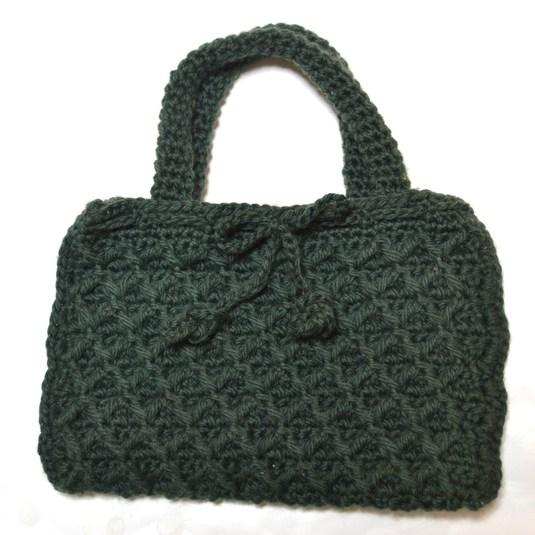 なわ編みミニミニバッグ