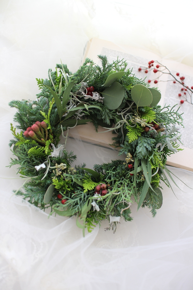 Chistmas wreath 2016��#103��[���ꥹ��...