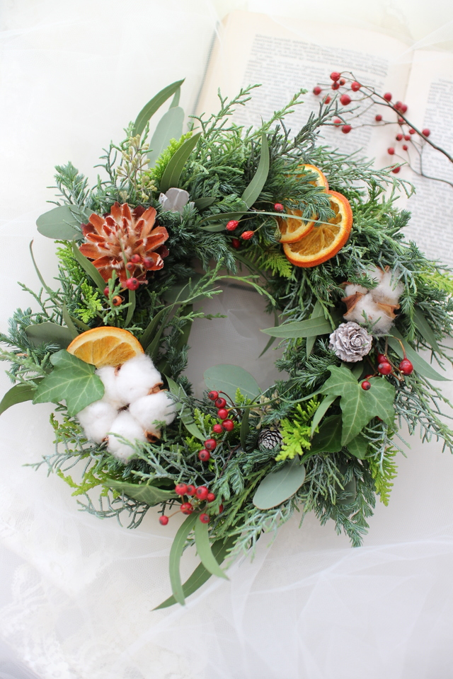 Chistmas wreath 2016��#104��[���ꥹ��...