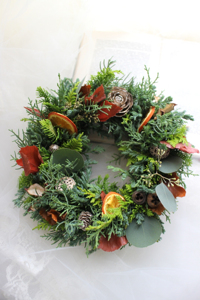 Chistmas wreath 2016��#105��[���ꥹ��...