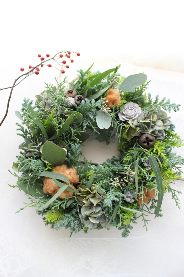 Chistmas wreath 2016��#106��[���ꥹ��...
