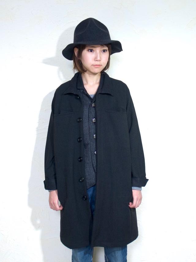 inside-out coat lady`s/ black