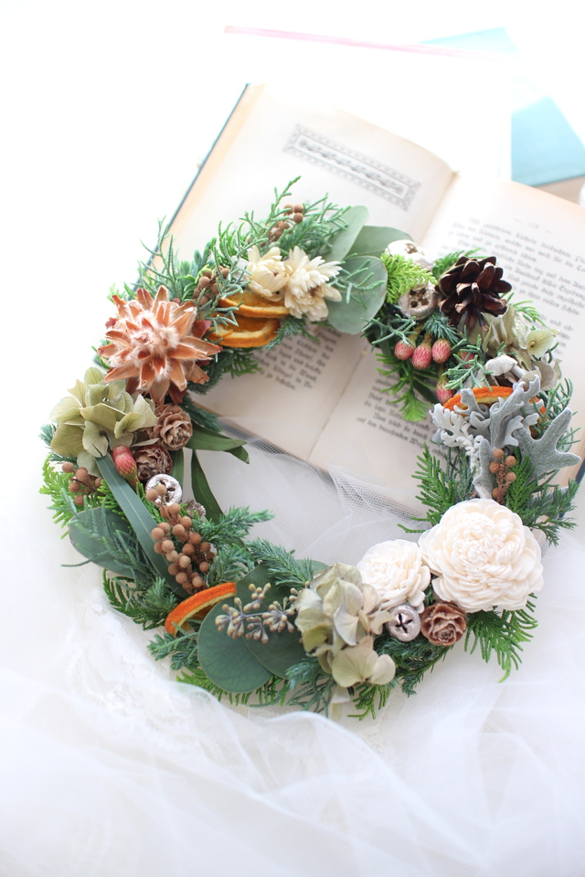 Christmas wreath 2016 #107 [クリス...
