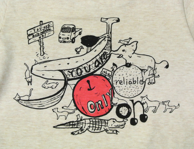 大人に頼りたいTシャツ