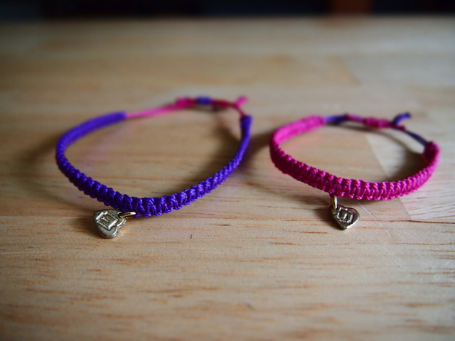 ***_   bracelet _***  ( ミサンガ )