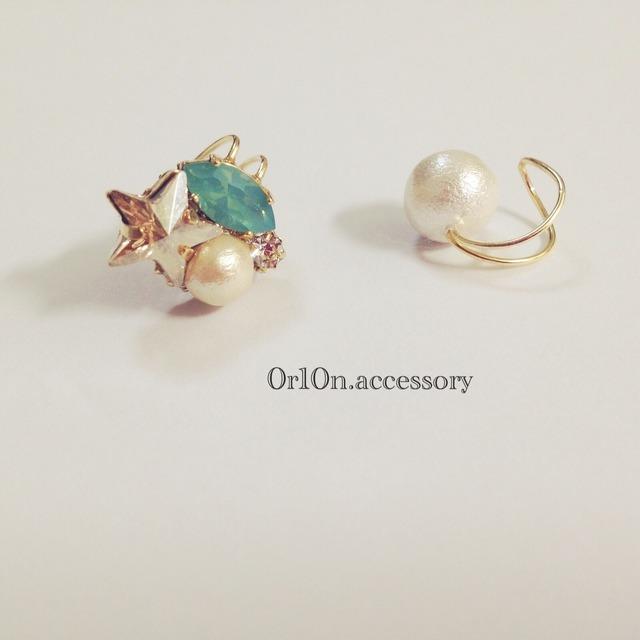 bijou&pearl earcuff.【no/4】