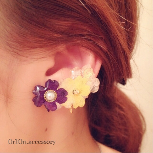flower Earring.【no/8】