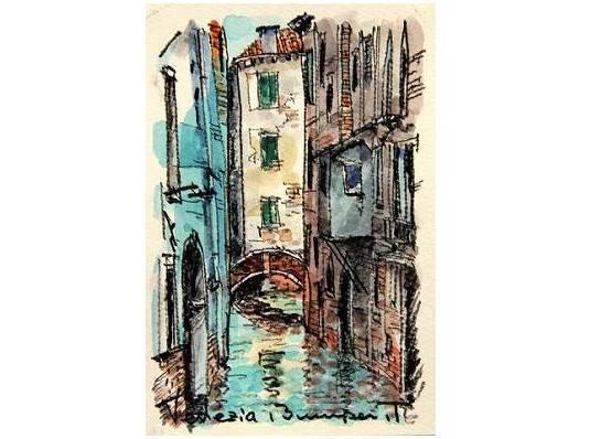 ヴェネチアにて