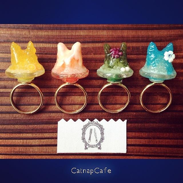 <夏限定>ねこかき氷リング...Catnap-cafe