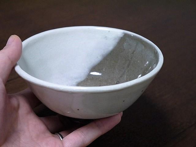 白化粧茶碗