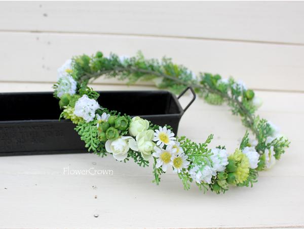 花かんむり +ホワイト+ #35#