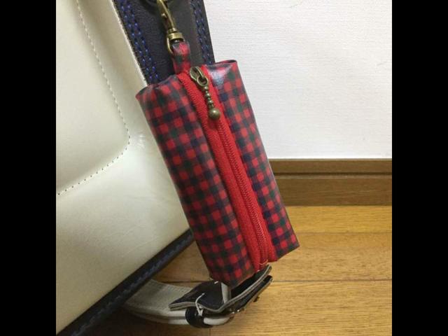 ランドセル用キーケース☆ファミリアチ...