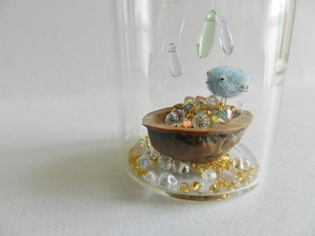 再販 しあわせの青い鳥ボトル-L ♪小さなしずく