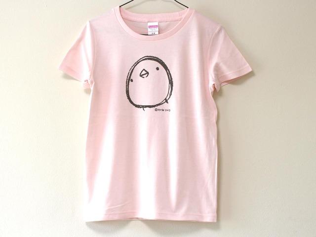 ひよこさんシンプルTシャツ ベビーピンク(girls-M)