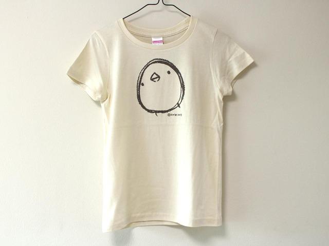 ひよこさんシンプルTシャツ ナチュラル(girls-S)