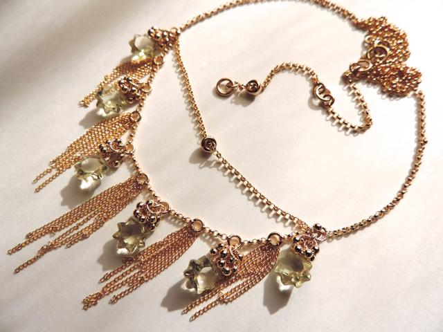 『 Star flower 』Necklace by K14GF