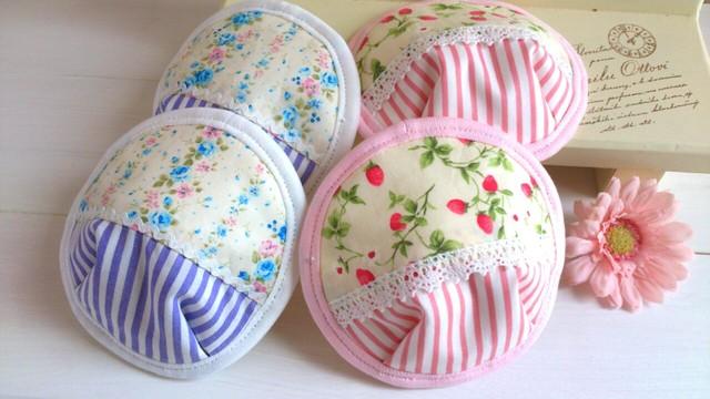 【k様オーダー品】可愛い布母乳パット〜2個set〜