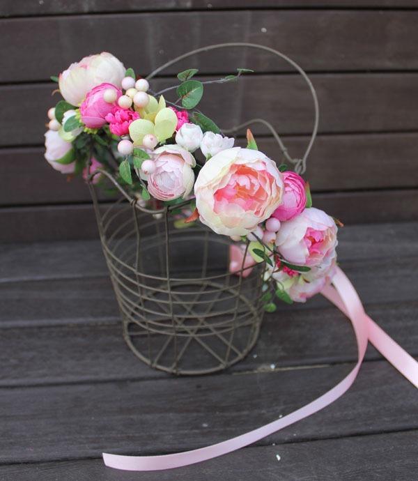 花かんむり +ピンク+ #11#