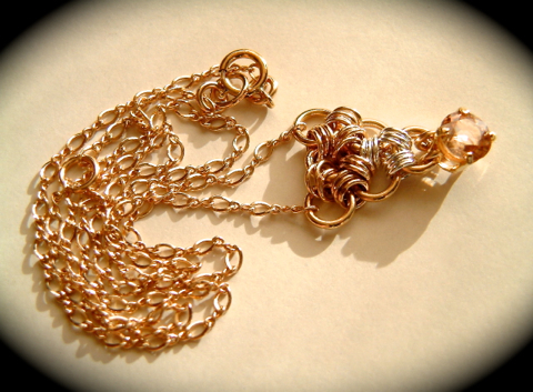 『 Place of healing 』 Pendant by K14GF & SV925