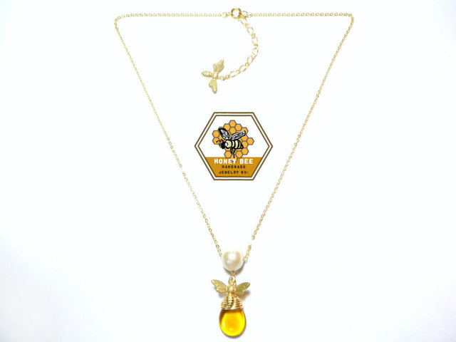 Flying Honeybee Necklace ?