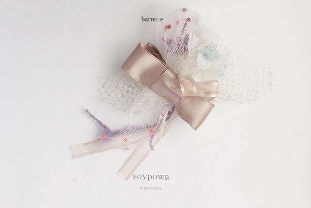 bouquet barrette 0621