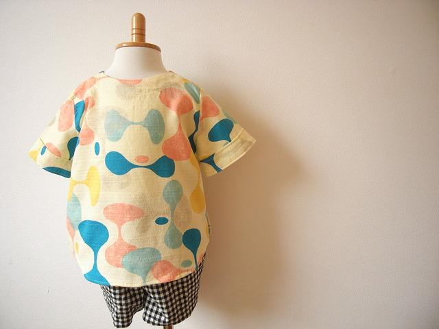 90size*バニラン・hourglassプルオーバーシャツ