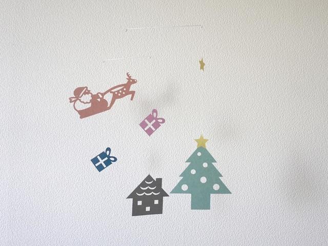 モビール「クリスマスA」その3
