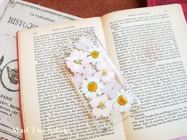 うすいろピンク&ホワイトの清楚なiphone5.5sカバー