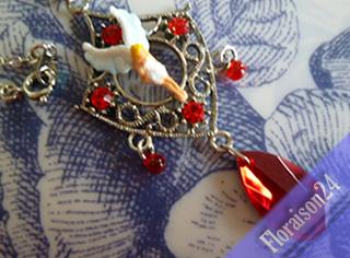 『聖夜の天使ネックレス』