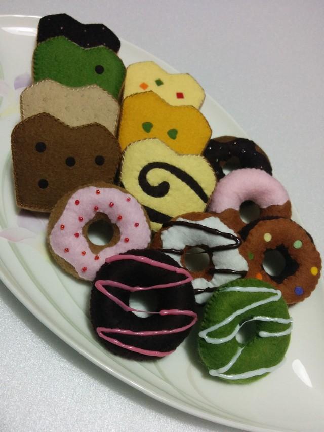 再再販 ☆彡.ドーナツ&パウンドケーキ
