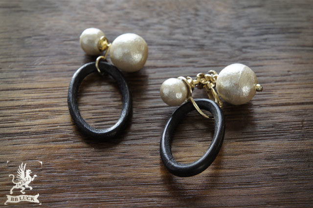pierce or earring 【 ウッドピアス or ...