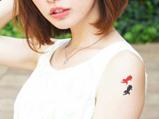 【再販×3】タトゥーシール(金魚)