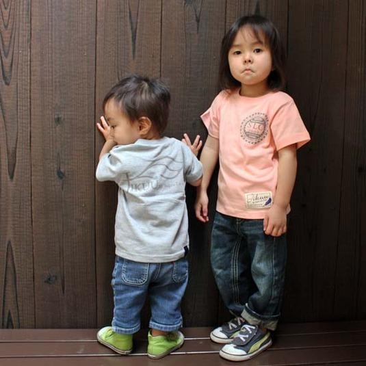 【JIKUU】 キッズTシャツ『JIKUU by SLC』