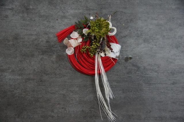 華やぎのお正月飾り_赤