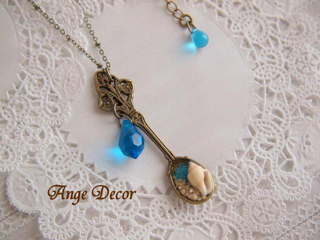 ◆◇海からの贈り物・スプーンのネックレスB・Sale◇◆