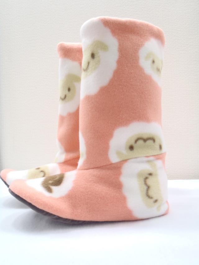 ブーツ型ルームシューズ(羊)冬のセール30%OFFの価格